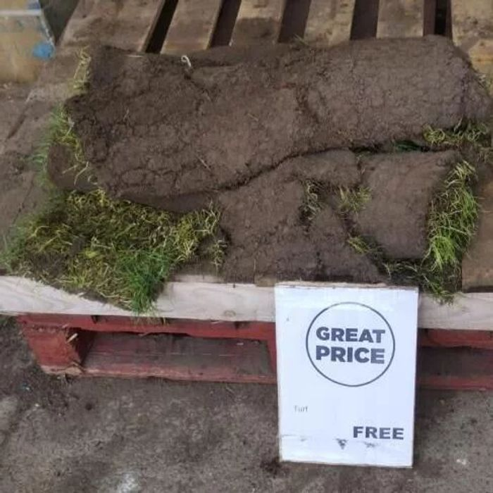 Free Turf Roll from Homebase