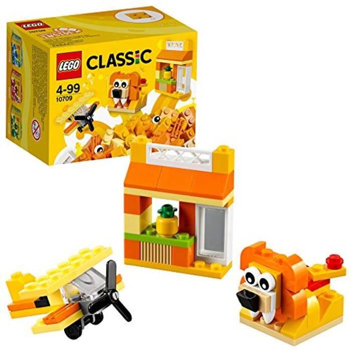 LEGO 10709 Orange Creativity Box (Amazon Add-on Item)