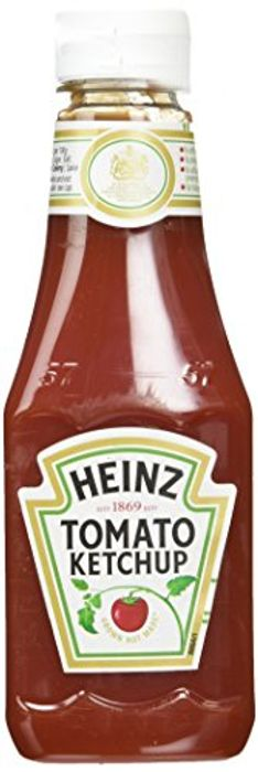 Heinz Tomato Squeezy Ketchup, 342 G (Pack of 10)