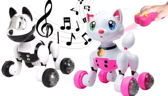 Voice Control Smart Robot Pet - 2 Options