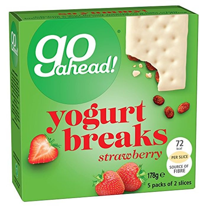 Go Ahead Yogurt Breaks Strawberry 2 Slices (5 PK) Amazon Pantry