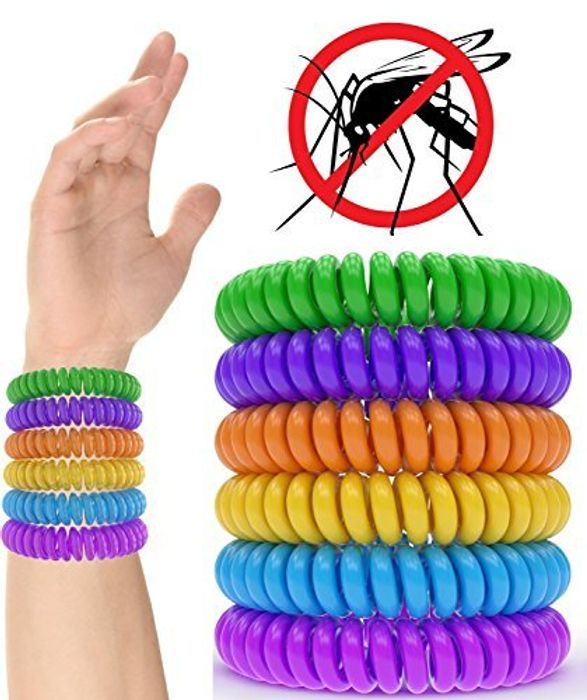 Nikgic Mosquito Repellent Bracelet Waterproof 10pcs a Set FREE DELIVERY