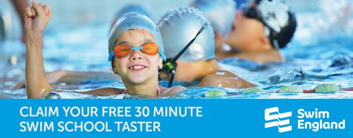 FREE 30 Minute Swim School Taster Lesson for Adults and Children