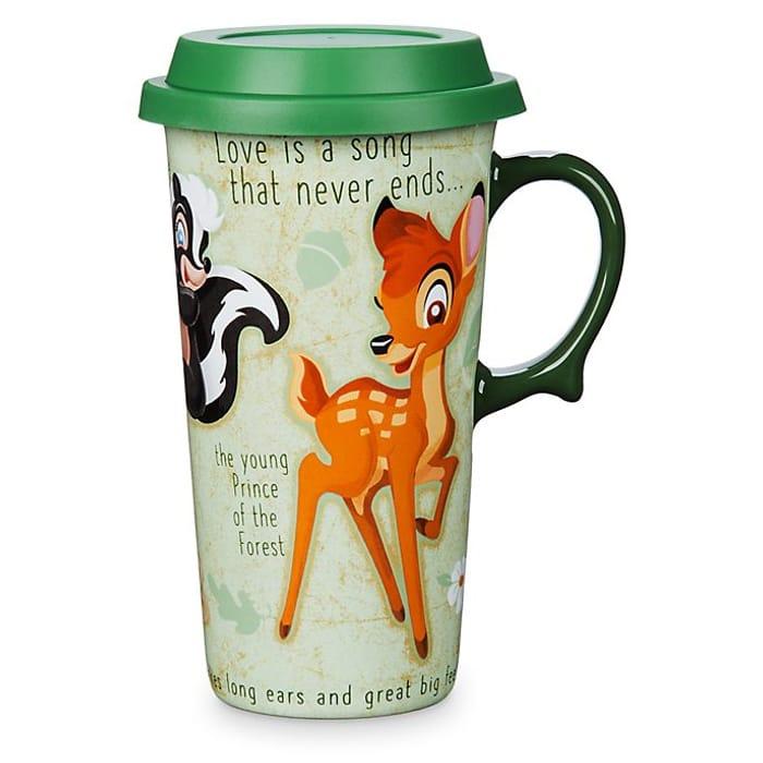 Disney Store Bambi Travel Mug Only £11