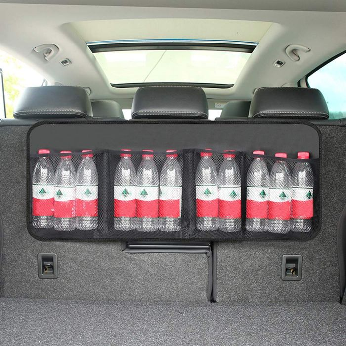 Car Boot Back Seat Organiser with 4 Pockets - Half Price with Code