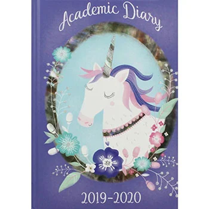 A5 Unicorn Day a Page 2019-20 Academic Diary
