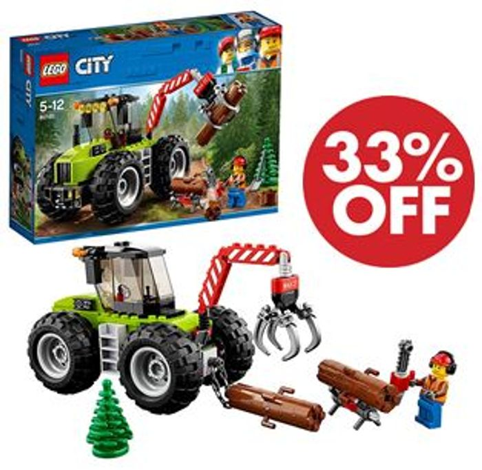 SAVE £5.99 - LEGO Forest Tractor **4.9 STARS** (60181)