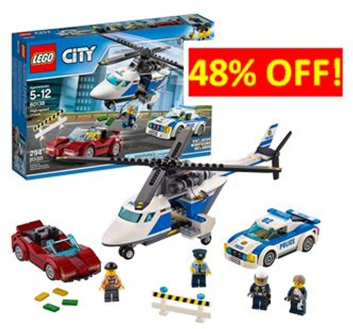 ALMOST 1/2 PRICE! LEGO CITY High-Speed Chase (60138)