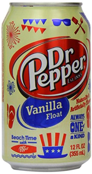Dr Pepper Vanilla Float 12oz (355ml) X6