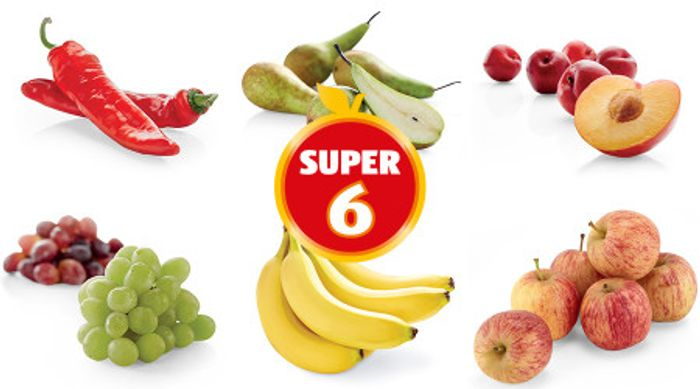 Mini Bananas, Mini Apples, Snack Pack Grapes, Plums, Pointed Peepers, Mini Pears
