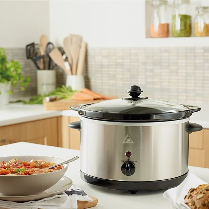3L Slow Cooker - Stainless Steel