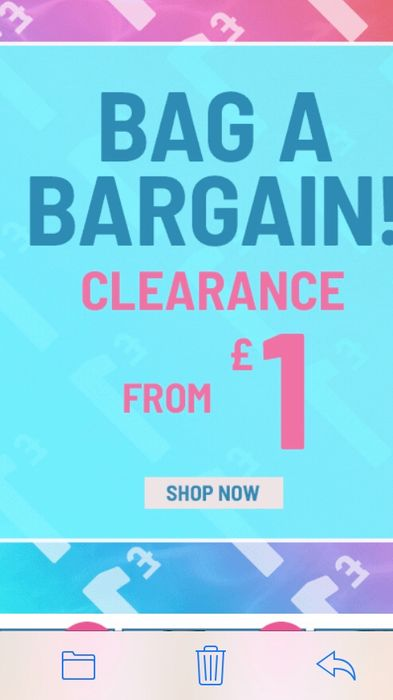 Sale Items from £1