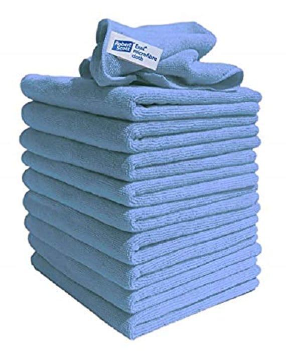 Lint Free Microfibre Exel Super Magic Cleaning Cloths