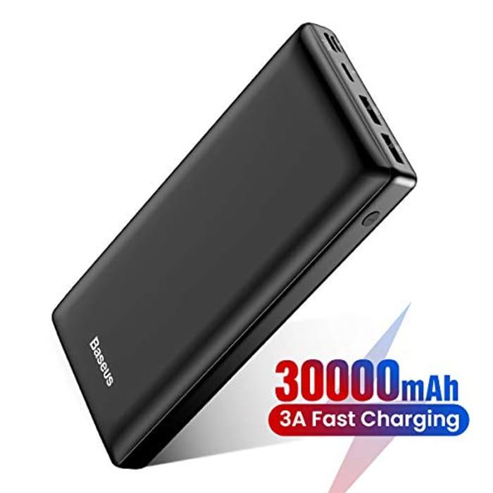 Baseus Power Bank 30000mAh (10% + Extra 50% Code)