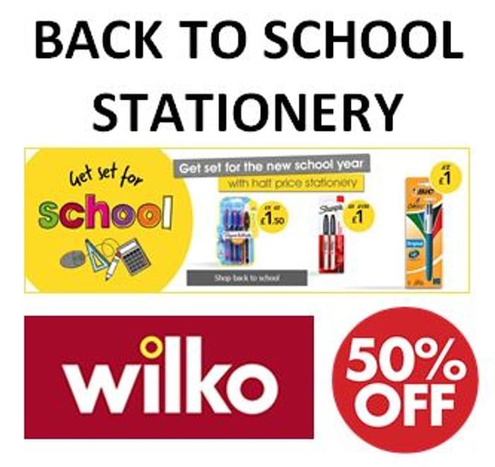 Half Price - Back to School Stationery