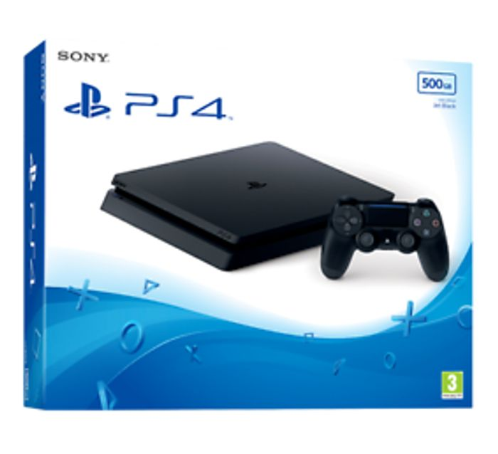 Cheap PS4 500GB Black Console Only £209.99