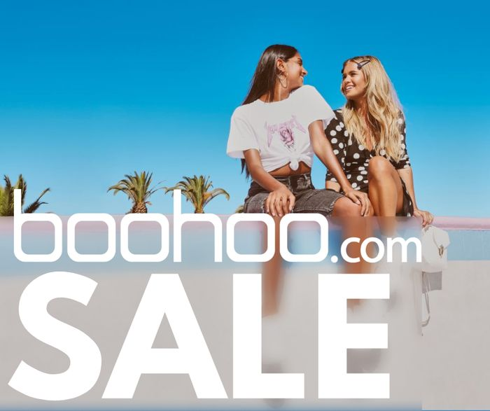 HUGE up to 50% off Sale at BOOHOO + Extra 20%