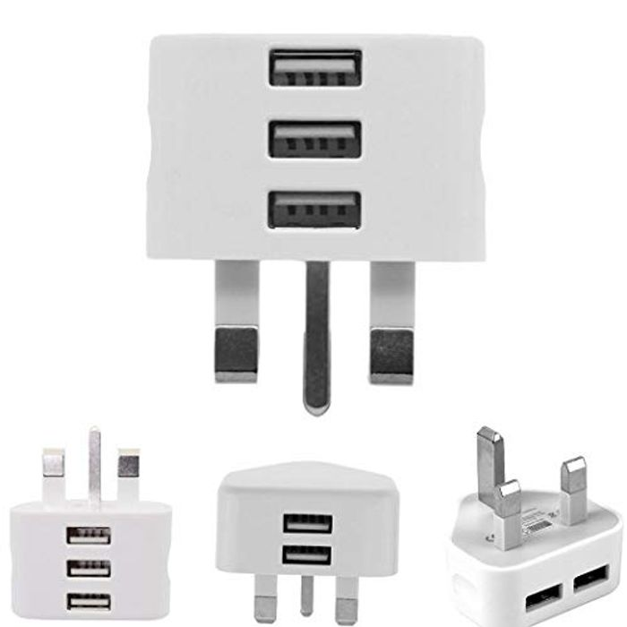 Mobile Phone Charger 2/3 USB Ports