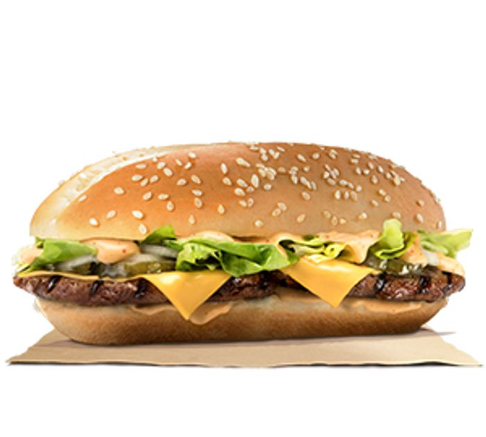 Special Offer on Long Big King + Small Fries at Burger King