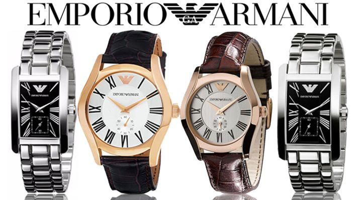 Emporio Armani His & Hers Watches - 4 Designs