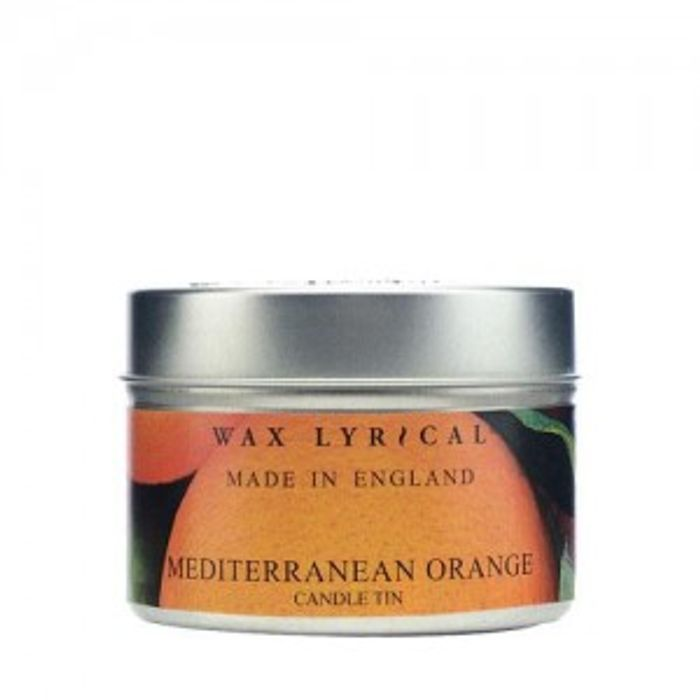 Wax Lyrical Made in England Mediterranean Orange Scented Candle Tin
