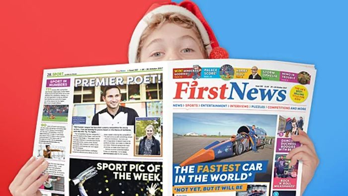 Free Copy of First News - the Newspaper for Teens