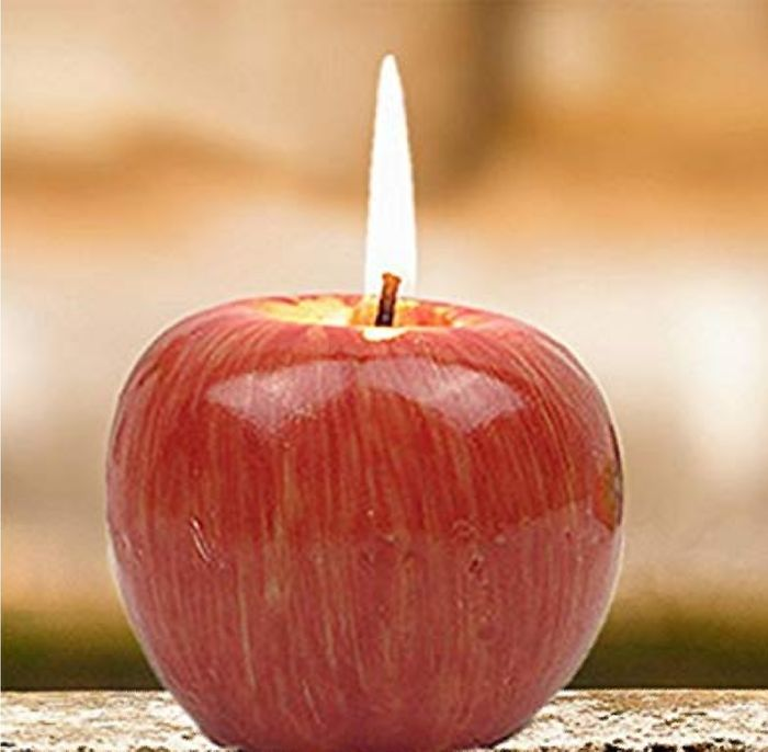 Apple Shape Small Candle