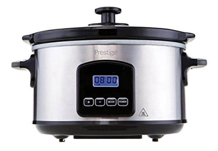 Prestige Digital Slow Cooker, 3.5 Liters, Black