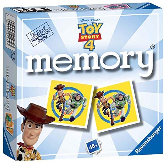 Cheap Ravensburger Disney Pixar Toy Story 4, Mini Memory Game, Only £3.99
