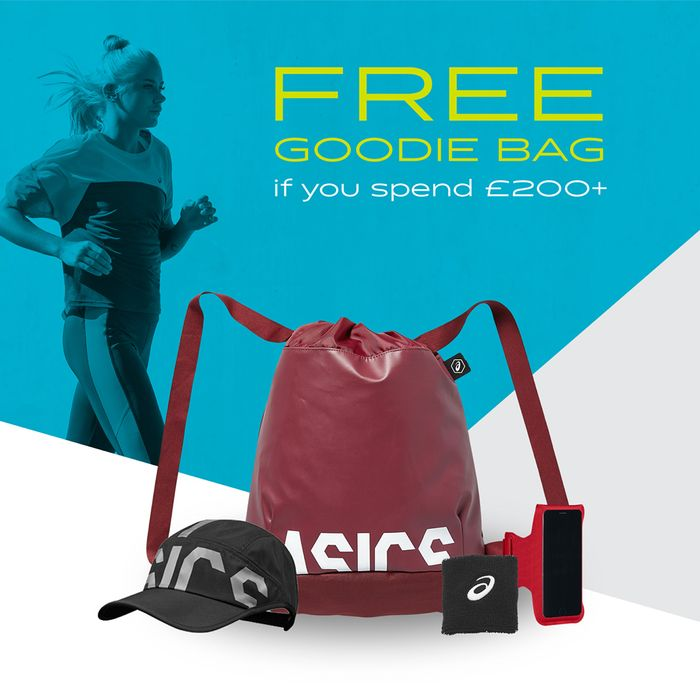 Free Goodie Bag with £200+ Spends