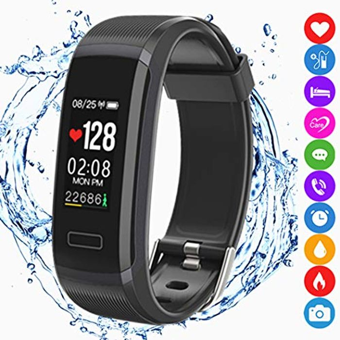 Fitness Tracker Activity Smart Bracelet Wristband Sports Watch