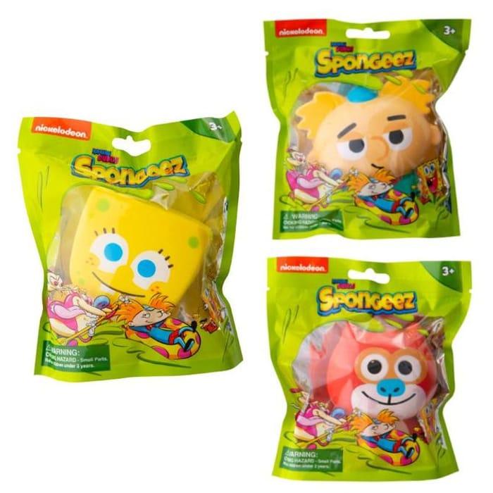 Nickelodeon Spongeez Slow-Rising Foam Squishy Toy