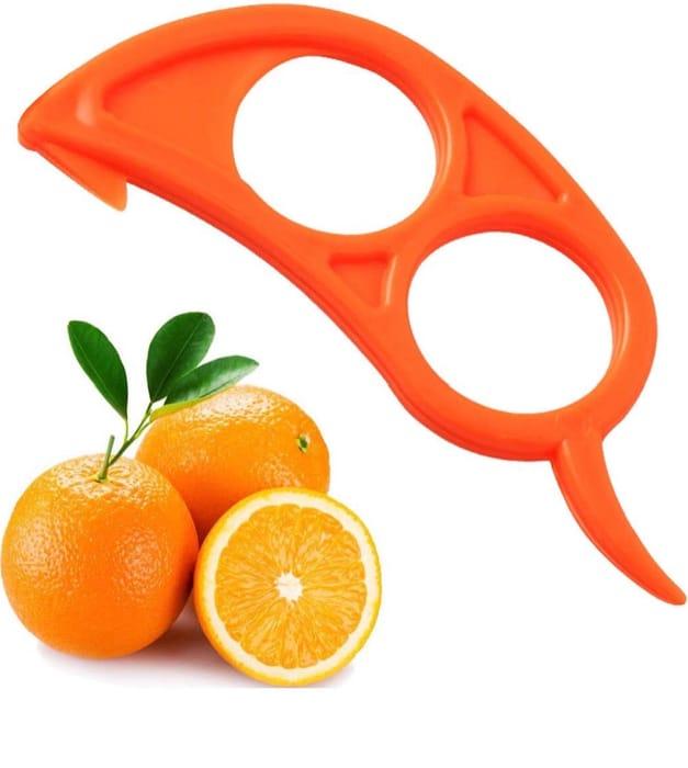 Viskey 4 x Orange Opener Peeler Slicer Only £0.5 Delivered