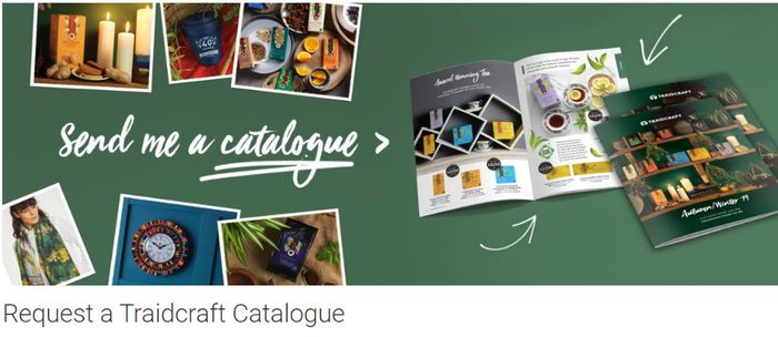 Get a FREE Traidcraft Catalogue by POST