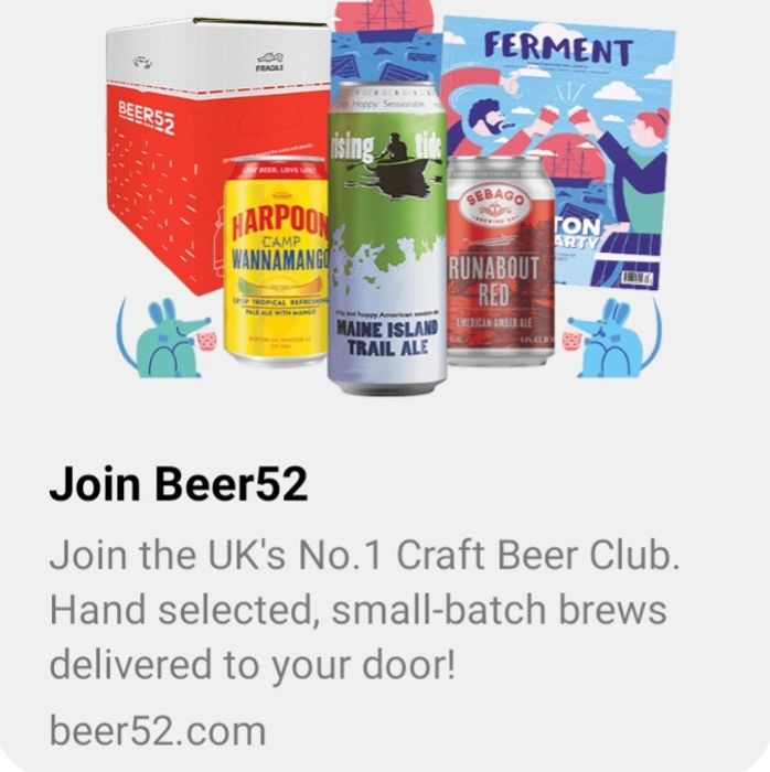 10 Craft Beers Free - pay £5.95 p & p only