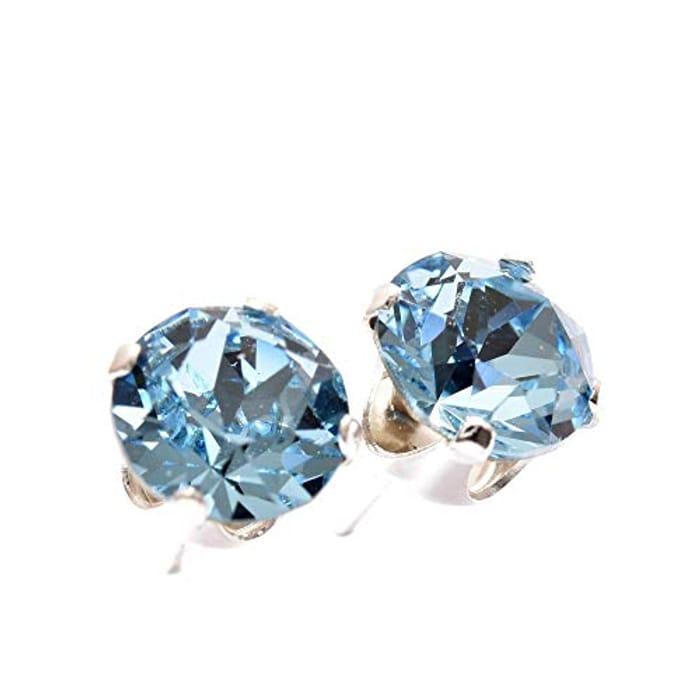 925 Sterling Silver stud earrings for women Only £5.5