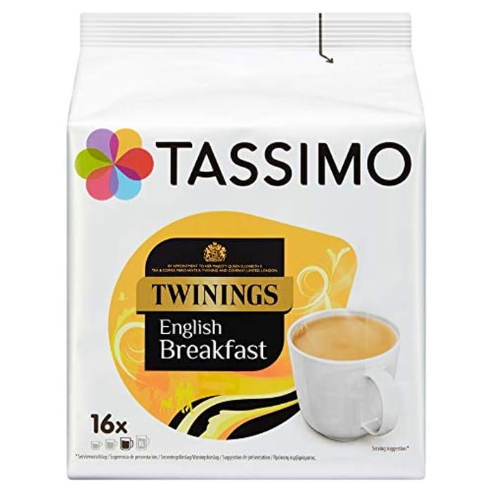 Tassimo Twinings English Breakfast Tea Pods X 80