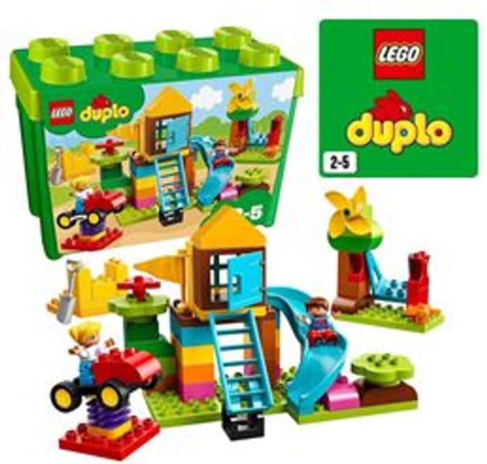 SAVE £13 - LEGO DUPLO Large Playground Brick Box (10864) FREE DELIVERY