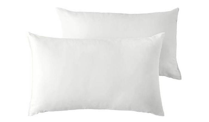 Argos Home Supersoft Bounceback Medium Pillow - 2 Pack Only £7.33