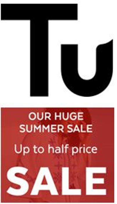 TU Clothing Sale - up to 50% OFF