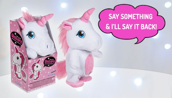 Walking & Talking Unicorn Toy