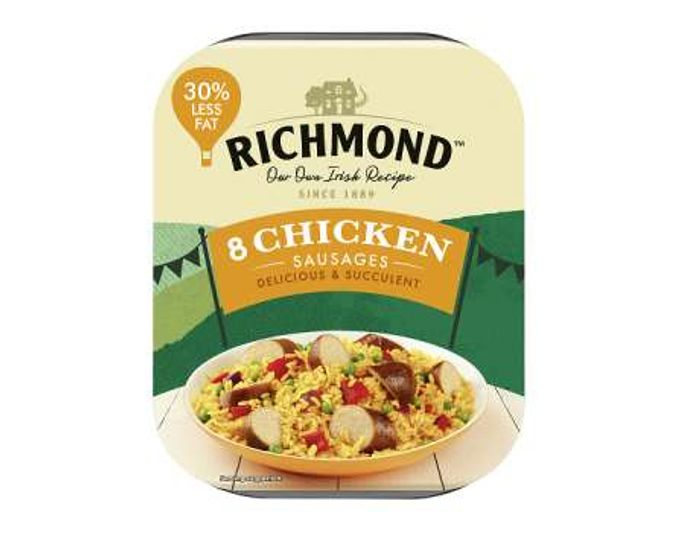 Free Richmond 8 Chicken Sausages - Checkout Smart