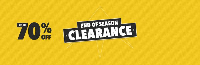 End off Clearance up to 70% Off at MILLETS