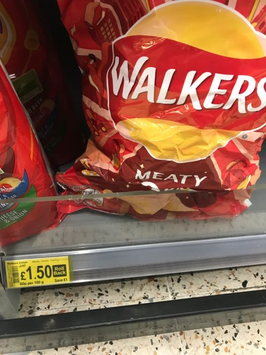 Cheap Walkers Classic Variety 10 Crisps - Save £1