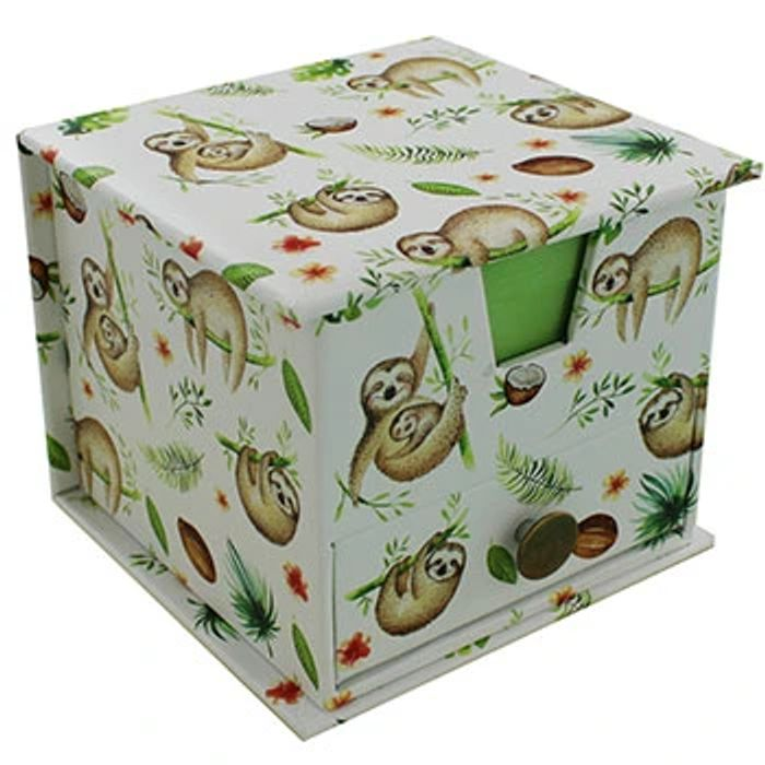 Sloth Memo Cube