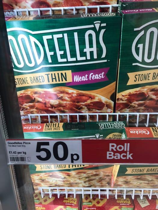Goodfellas Stone Baked Meat Feast