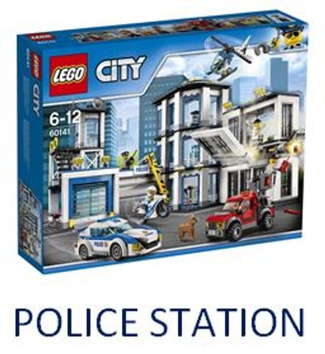 SAVE £20 - LEGO CITY Police Station (60141)