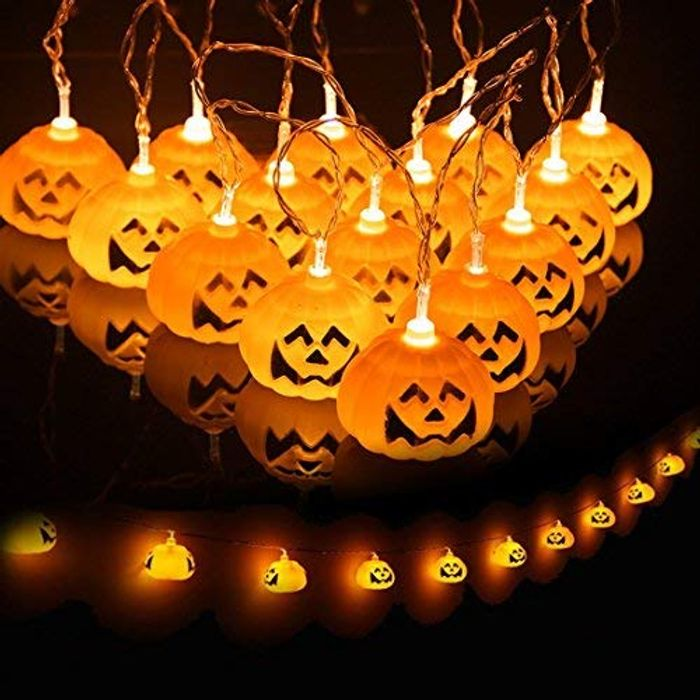 Halloween String Lights, save 8% with voucher