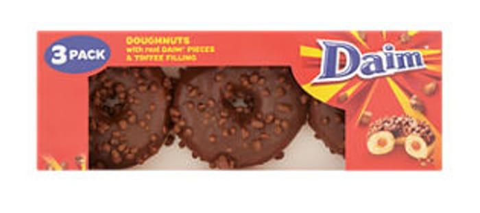 Daim/Oreo/Cadburys Caramel Doughnuts 3pk