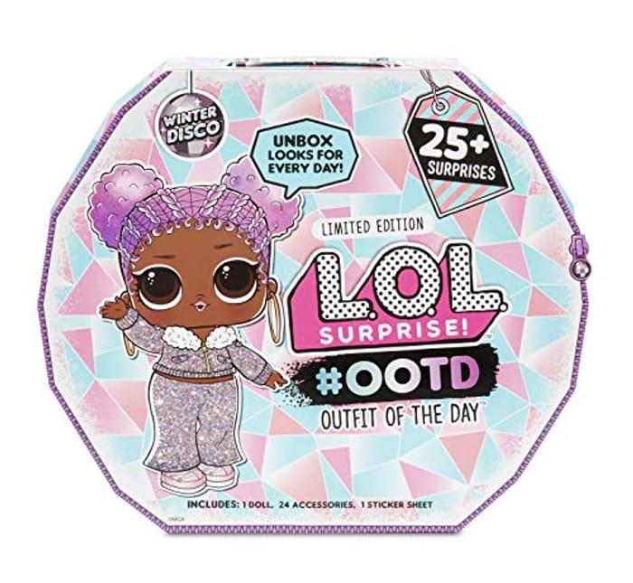 Best Price L.O.L. Surprise! ADVENT CALENDAR #OOTD Winter Disco PRE-ORDER NOW!